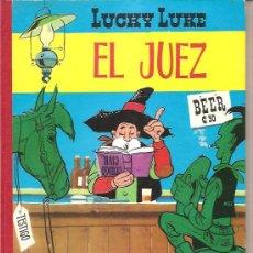 Tebeos: LUCKY LUKE – EL JUEZ - TORAY. Lote 36436337