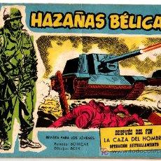 Tebeos: HAZAÑAS BELICAS EXTRA AZUL Nº 207, BOIXCAR. J. BOIX, MARCELO PAGES,. Lote 18005256