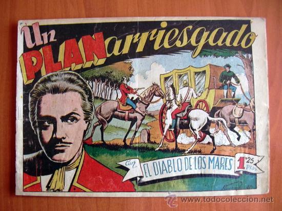 EL DIABLO DE LOS MARES Nº 48 - EDICIONES TORAY 1947 (Tebeos y Comics - Toray - Diablo de los Mares)