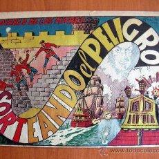 Tebeos: EL DIABLO DE LOS MARES Nº 50 - EDICIONES TORAY 1947. Lote 18151190