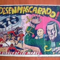 Tebeos: EL DIABLO DE LOS MARES Nº 52 - EDICIONES TORAY 1947. Lote 18151237