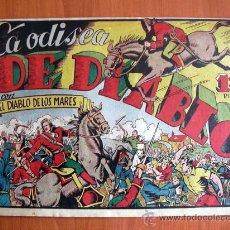 Tebeos: EL DIABLO DE LOS MARES Nº 54 - EDICIONES TORAY 1947. Lote 18151257