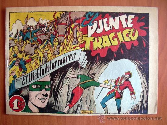 EL DIABLO DE LOS MARES Nº 59 - EDICIONES TORAY 1947 (Tebeos y Comics - Toray - Diablo de los Mares)