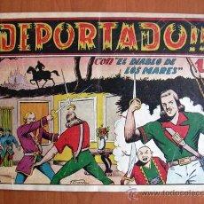 Tebeos: EL DIABLO DE LOS MARES Nº 60 - EDICIONES TORAY 1947. Lote 18151483