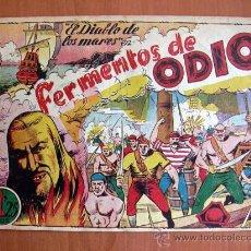 Tebeos: EL DIABLO DE LOS MARES Nº 61 - EDICIONES TORAY 1947. Lote 18151495