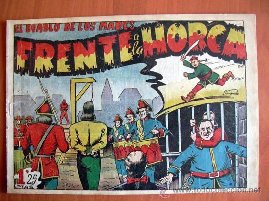 EL DIABLO DE LOS MARES Nº 67 - EDICIONES TORAY 1947 (Tebeos y Comics - Toray - Diablo de los Mares)