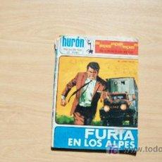 Tebeos: HURON-FURIA EN LOS ALPES-ED TORAY-1968-48PAG-15X21-. Lote 18231677