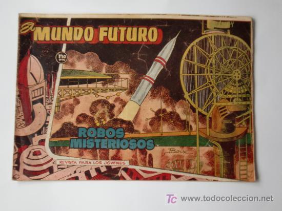 MUNDO FUTURO Nº 70 ORIGINAL (Tebeos y Comics - Toray - Mundo Futuro)