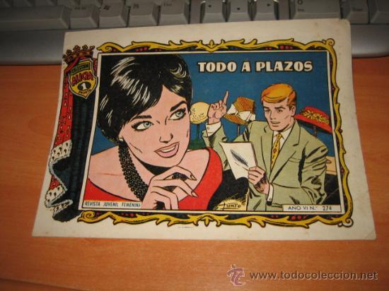 TODO A PLAZOS COLECCION ALICIA AÑO VI 274 EDICIONES TORAY 1958 (Tebeos y Comics - Toray - Alicia)