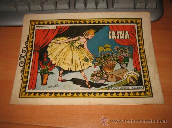 IRINA COLECCION AZUCENA Nº 580 EDICIONES TORAY (Tebeos y Comics - Toray - Azucena)