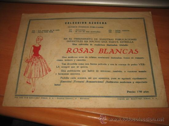 Tebeos: IRINA COLECCION AZUCENA Nº 580 EDICIONES TORAY - Foto 2 - 18332693