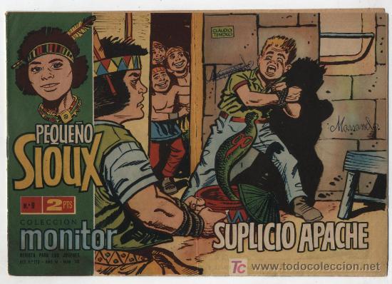 PEQUEÑO SIOUX Nº 9. (Tebeos y Comics - Toray - Sioux)