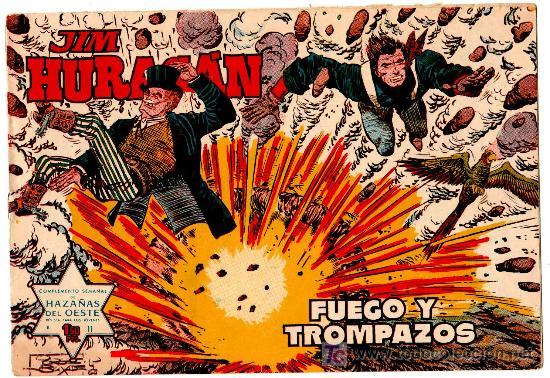 JIM HURACAN Nº 11,ORIGINAL EDI. TORAY 1959, JORDI BUXADE (Tebeos y Comics - Toray - Otros)