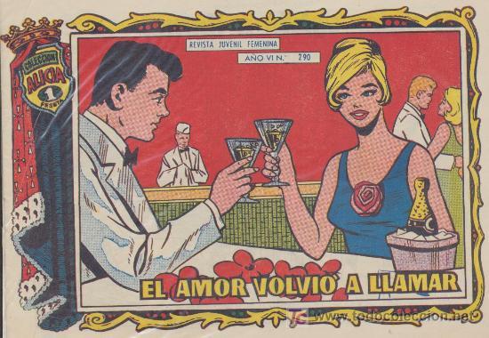 ALICIA Nº 290. TORAY. (Tebeos y Comics - Toray - Alicia)