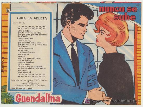 GUENDALINA Nº 86. (Tebeos y Comics - Toray - Guendalina)