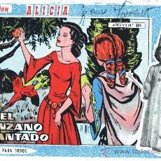 Tebeos: COLECCIÓN ALICIA Nº344 (EDIT. TORAY. AÑOS 50). Lote 18612753