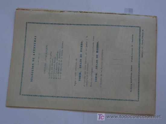 Tebeos: SELECCION DE AVENTURAS TRIO AL AIRE TORAY Nº 6 ORIGINAL - Foto 2 - 27566549
