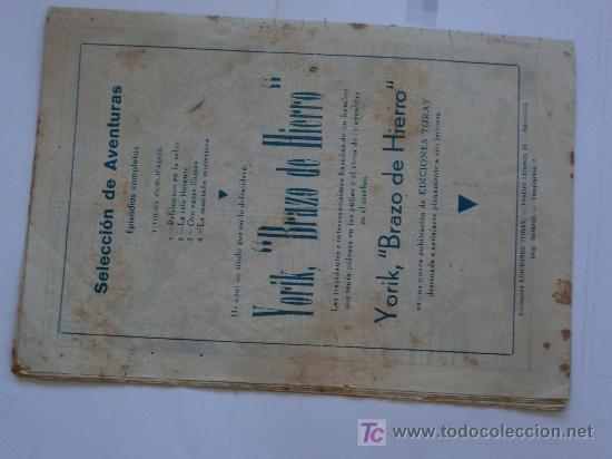 Tebeos: SELECCION DE AVENTURAS TRIO AL AIRE Nº 4 TORAY ORIGINAL - Foto 2 - 27504164