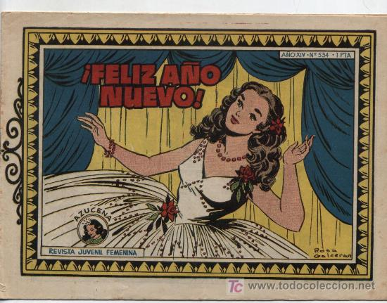 AZUCENA Nº 534 (Tebeos y Comics - Toray - Azucena)