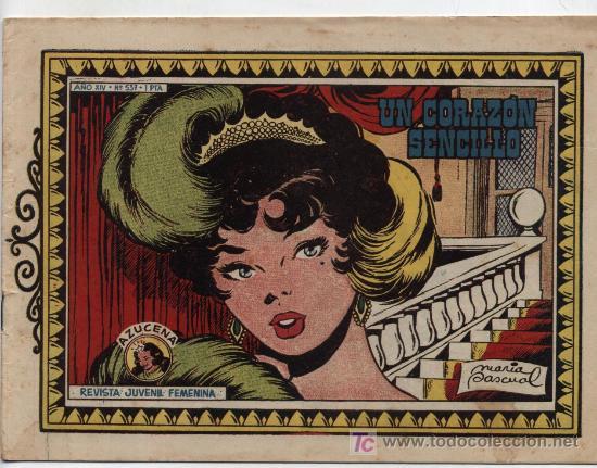 AZUCENA Nº 537 (Tebeos y Comics - Toray - Azucena)