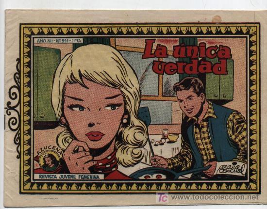 AZUCENA Nº 544 (Tebeos y Comics - Toray - Azucena)
