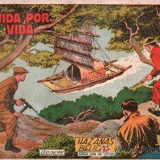 Tebeos: TEBEO HAZAÑAS BELICAS. REVISTA PARA LOS JOVENES. BOIXCAR. VIDA POR VIDA.. Lote 18867706
