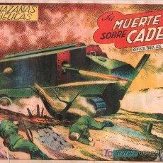 Tebeos: TEBEO HAZAÑAS BELICAS. REVISTA PARA LOS JOVENES. BOIXCAR. LA MUERTE SOBRE CADENAS. 204.. Lote 18867760