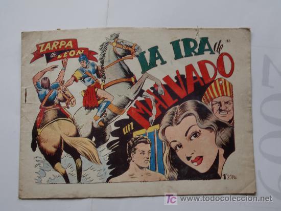 ZARPA DE LEON Nº23 ORIGINAL IMPECABLE (Tebeos y Comics - Toray - Zarpa de León)