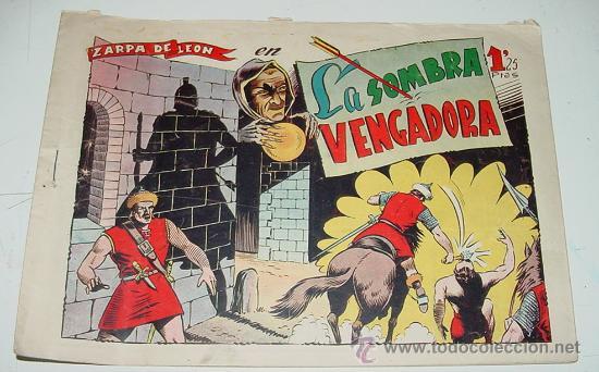 ZARPA DE LEON - EN LA SOMBRA VENCEDORA- Nº 9 - IMP. MODERNA. (Tebeos y Comics - Toray - Zarpa de León)