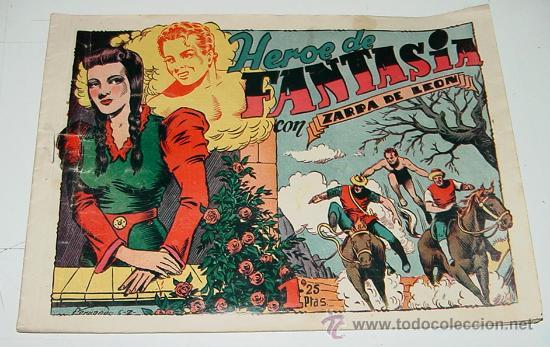 ZARPA DE LEON - HEROE DE FANTASIA - Nº 6. (Tebeos y Comics - Toray - Zarpa de León)