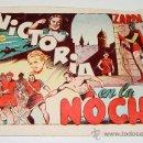 Tebeos: ZARPA DE LEON EN VICTORIA EN LA NOCHE - Nº 8 - ED. TORAY.. Lote 19097348