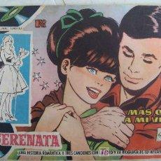 Tebeos: SERENATA. Nº 139 MÁS QUE A MI VIDA 1959. CANCIONES MIGUEL RÍOS MIKE. REVISTA JUVENIL FEMENINA. . Lote 96022446