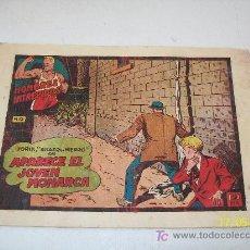Tebeos: HOMBRES INTREPIDOS Nº. 12- YORIK BRAZO DE HIERRO EN APARECE EL JOVEN MONARCA-ED. TORAY-S/F.. Lote 19393023