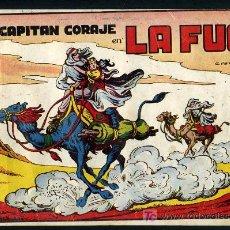 Tebeos: AVENTURAS DEL CAPITAN CORAJE, LA FUGA Nº 4 ,ORIGINAL, ALBUM ,TORAY ,GRANDE,1946. Lote 27026419