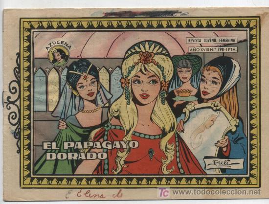 AZUCENA Nº 798. TORAY. (Tebeos y Comics - Toray - Azucena)