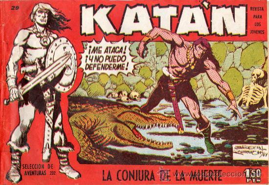 COMIC KATAN (Tebeos y Comics - Toray - Katan)