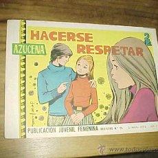 Tebeos: AZUCENA. Nº 1198. HACERSE RESPETAR. PUBLICACION JUVENIL FEMENINA. AÑO 1971.. Lote 20306361