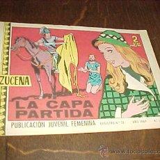 Tebeos: AZUCENA Nº 1104. LA CAPA PARTIDA. PUBLICACION JUVENIL FEMENINA. AÑO 1969. Lote 20318093
