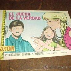 Tebeos: AZUCENA Nº 1102. EL JUEGO DE LA VERDAD. PUBLICACION JUVENIL FEMENINA. AÑO 1969. Lote 20318126