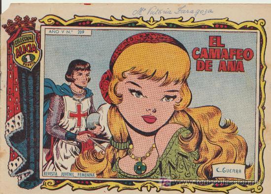 ALICIA Nº 209. TORAY. (Tebeos y Comics - Toray - Alicia)