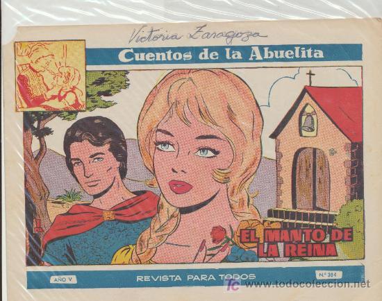 CUENTOS DE LA ABUELITA Nº 304. TORAY. (Tebeos y Comics - Toray - Cuentos de la Abuelita)