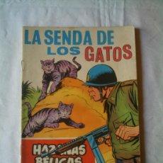 Tebeos: HAZAÑAS BÉLICAS - LA SENDA DE LOS GATOS Nº 281 AÑO 1969. Lote 22801334
