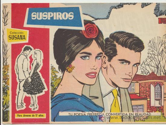 SUSANA Nº 107. (Tebeos y Comics - Toray - Susana)