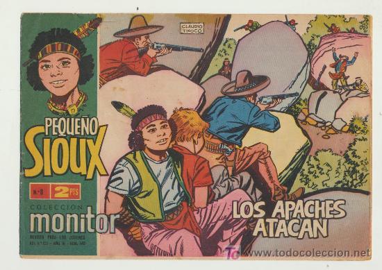 EL PEQUEÑO SIOUX Nº 8. (Tebeos y Comics - Toray - Sioux)