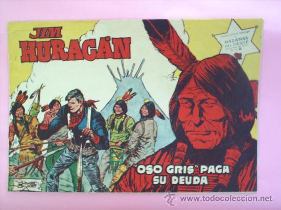 JIM HURACAN N.40 HAZAÑAS DEL OESTE , EDITORIAL TORAY , JORDI BUXADE (Tebeos y Comics - Toray - Hazañas del Oeste)