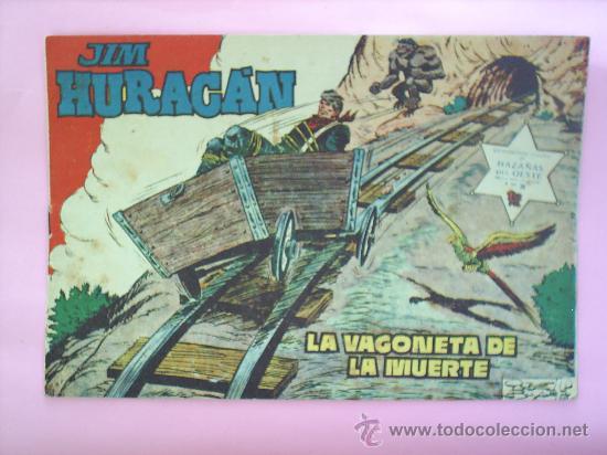 HAZAÑAS DEL OESTE JIM HURACAN N.38 JORDI BUXADE EDITORIAL TORAY (Tebeos y Comics - Toray - Hazañas del Oeste)