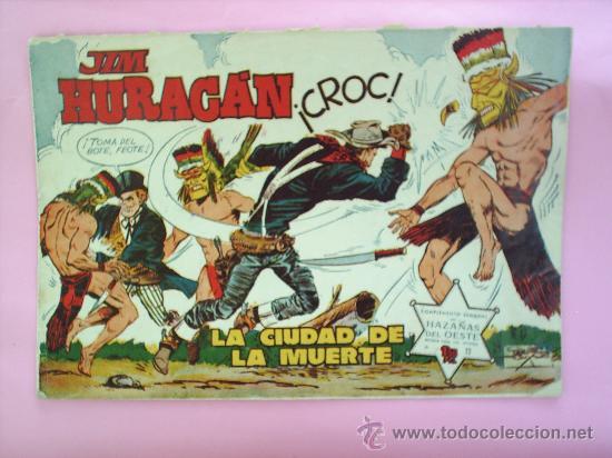 HAZAÑAS DEL OESTE JIM HURACAN N. 13 , JORDI BUXADE EDICIONES TORAY (Tebeos y Comics - Toray - Hazañas del Oeste)