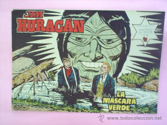 HAZAÑAS DEL OESTE - JIM HURACAN N.42 JORDI BUXADE EDITORIAL TORAY (Tebeos y Comics - Toray - Hazañas del Oeste)