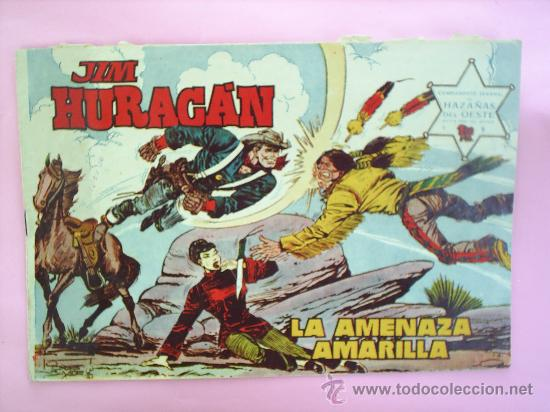 HAZAÑAS DEL OESTE , JIM HURACAN N.9 JORDI BUXADE EDICONES TORAY (Tebeos y Comics - Toray - Hazañas del Oeste)