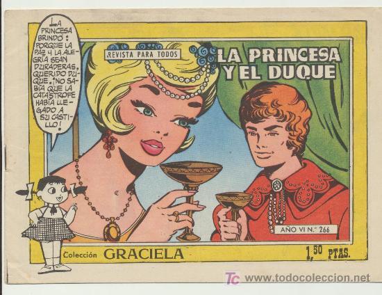 GRACIELA Nº 266. (Tebeos y Comics - Toray - Graciela)